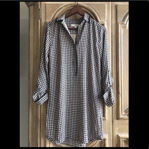 Men's inspired shirt dress